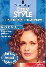 schwarzkopf poly style foam perm review