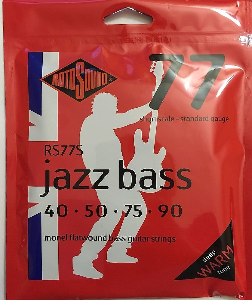 rotosound flatwound bass strings review