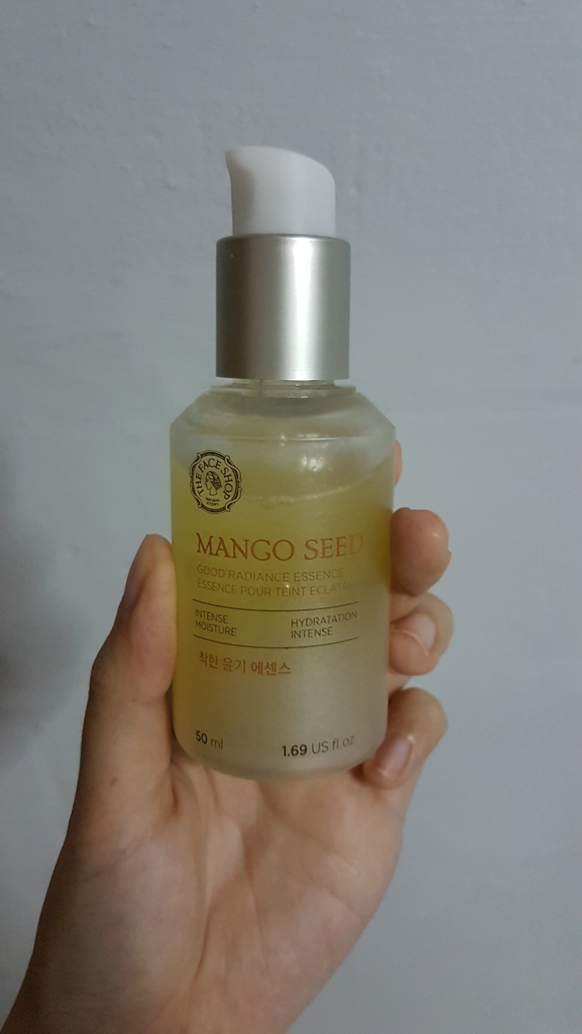 the face shop mango seed essence review