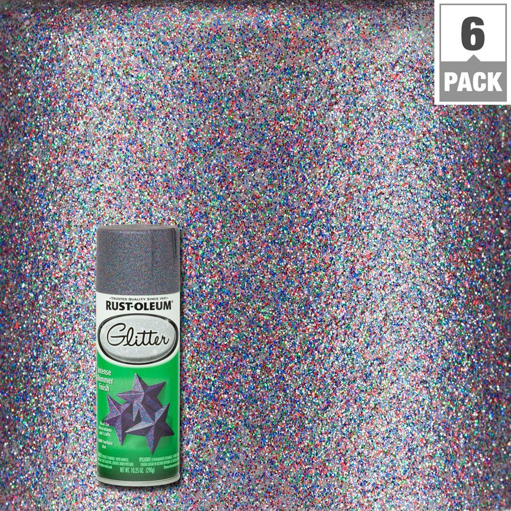rust oleum glitter paint review
