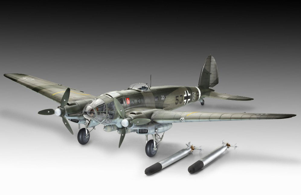 revell he 111 1 32 review