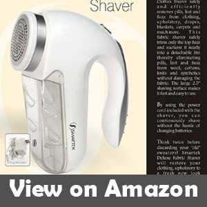 vanish deluxe fabric shaver reviews