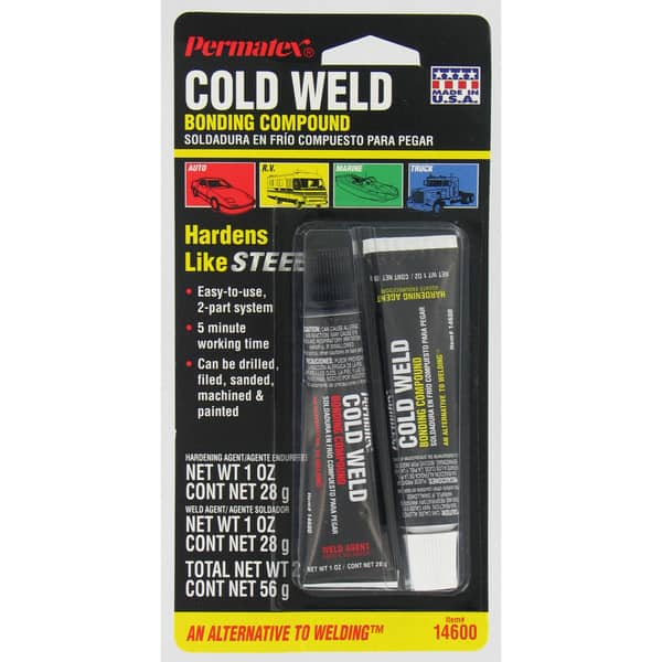 permatex cold weld bonding compound review
