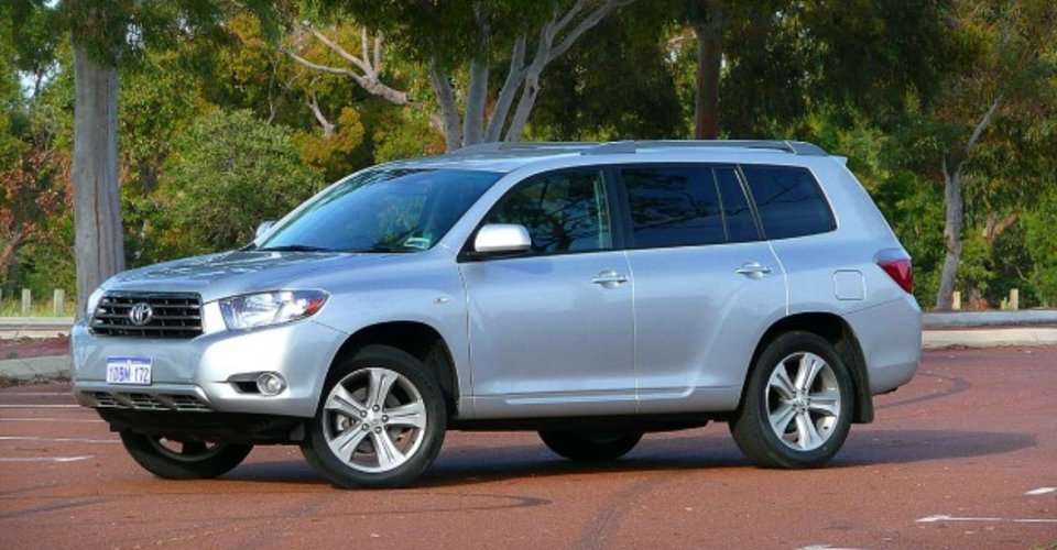 toyota kluger kx r review