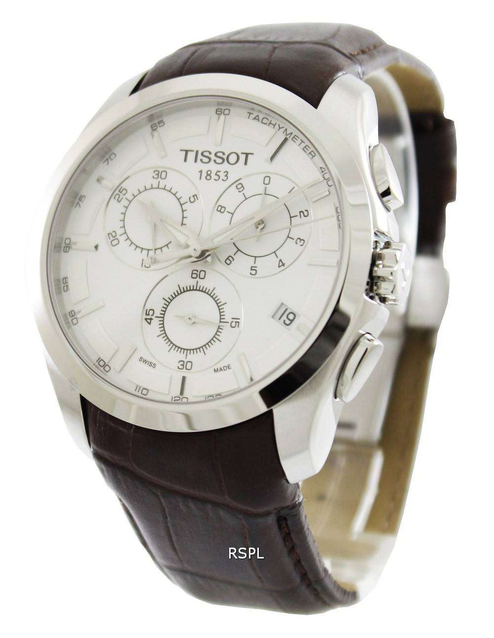 tissot couturier quartz chronograph review