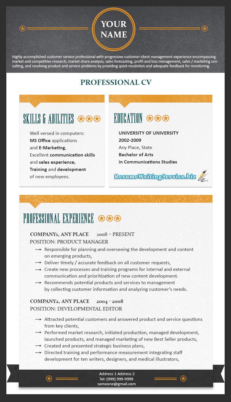 resume writing services reviews 2015