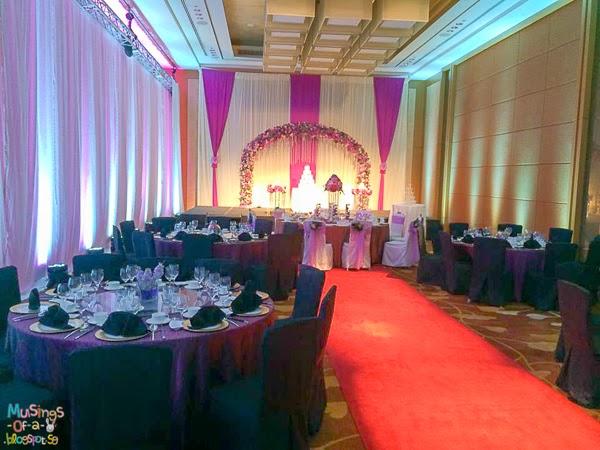 marina bay sands wedding review