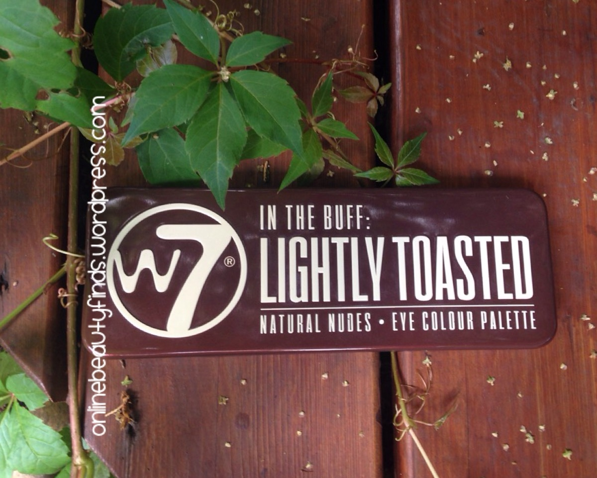 w7 in the buff lightly toasted review
