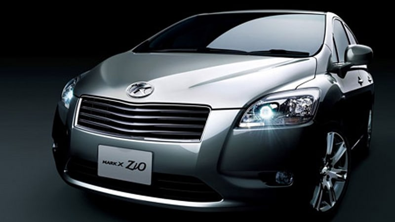 toyota mark x zio 3.5 review