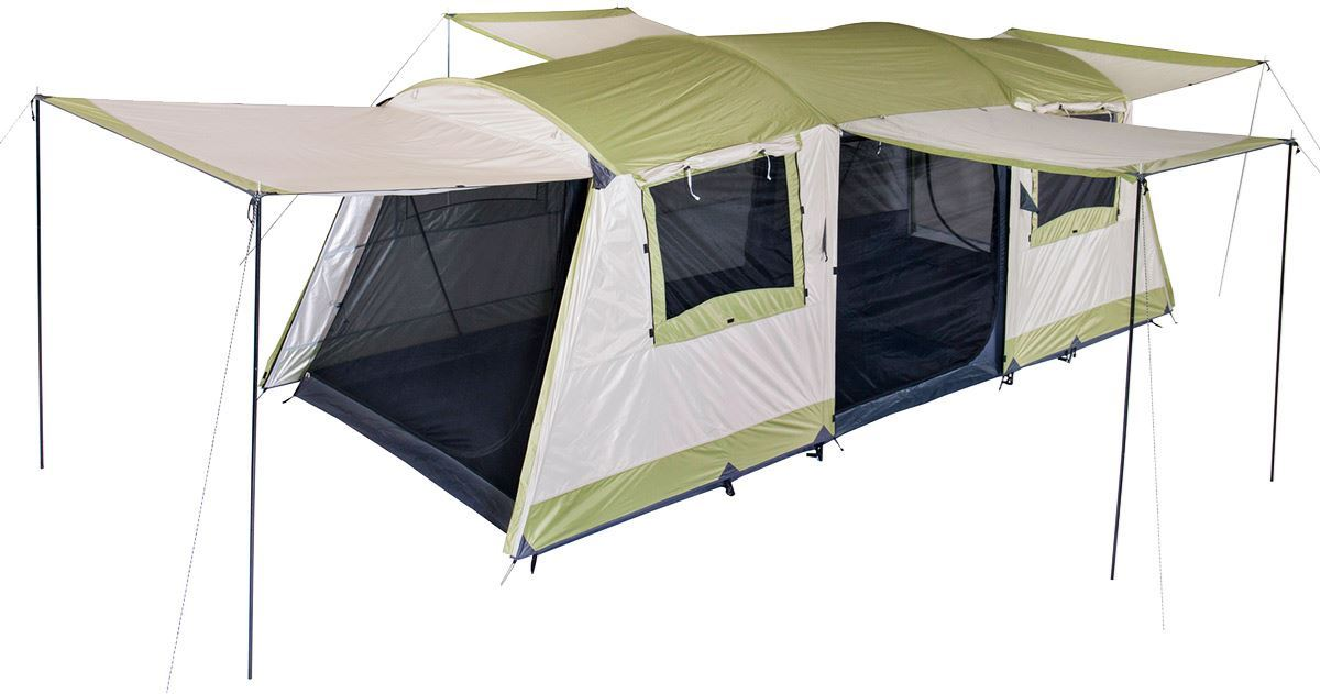 oztrail seascape dome 10 tent review