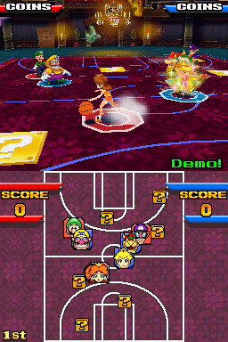 mario hoops 3 on 3 review
