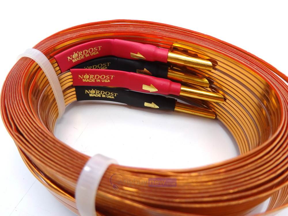 nordost 2 flat speaker cable review