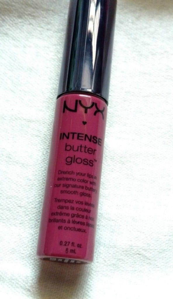 nyx intense butter gloss review