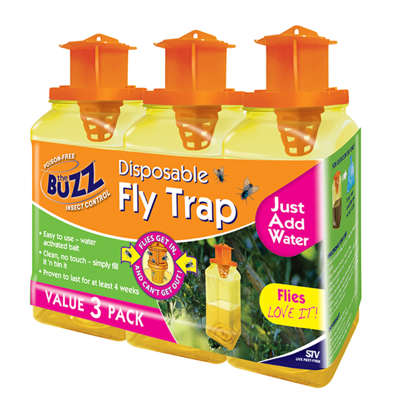 the buzz disposable fly trap review