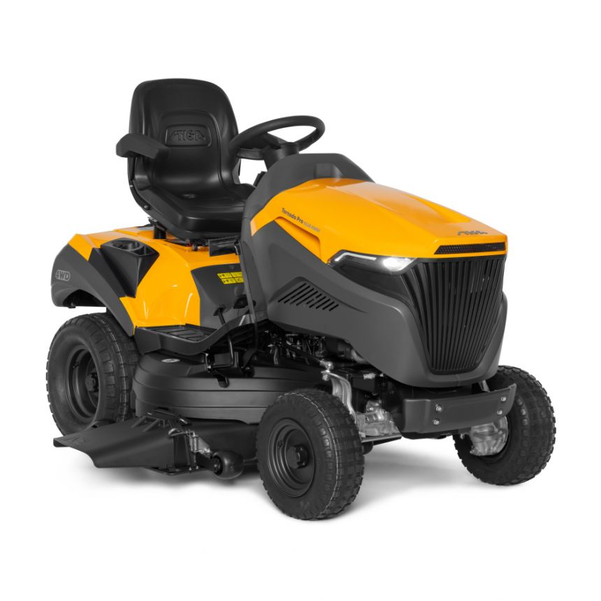 stiga tornado ride on mower review