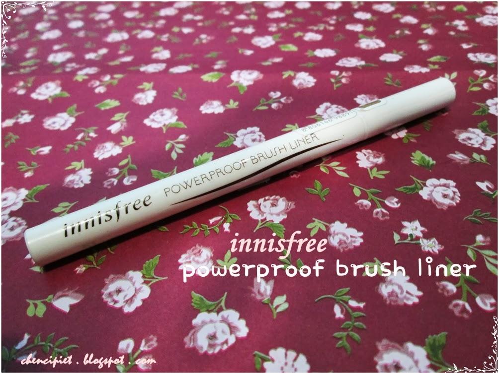 innisfree powerproof brush liner review