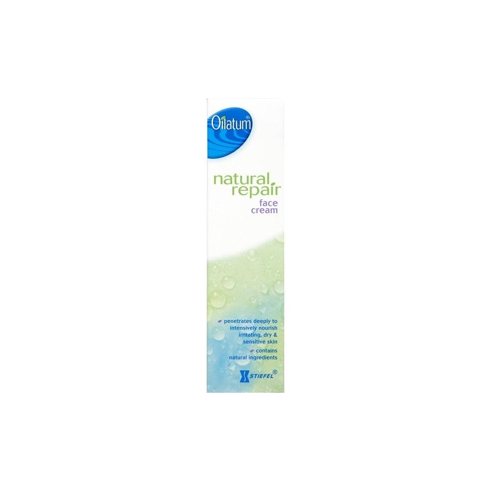 oilatum natural repair face cream review