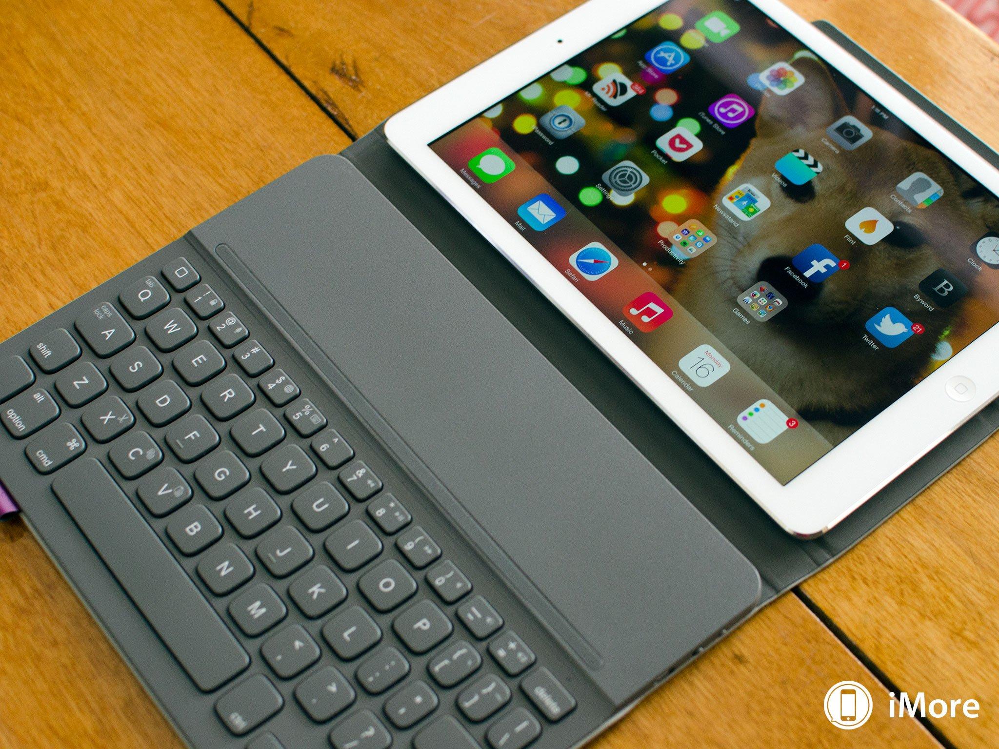 logitech ipad air keyboard review