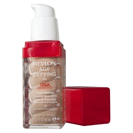 revlon age defying with dna advantage cream makeup review