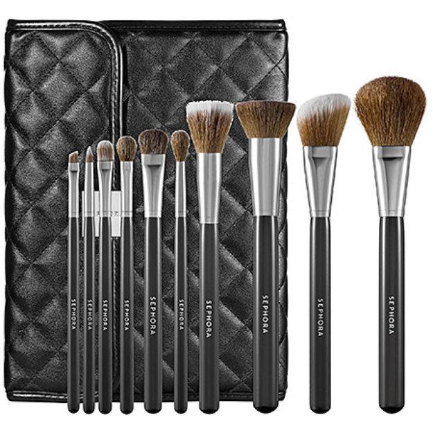 sephora pro essentials brush set review
