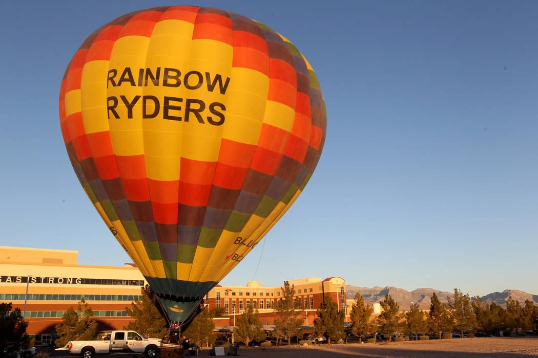las vegas hot air balloon ride reviews