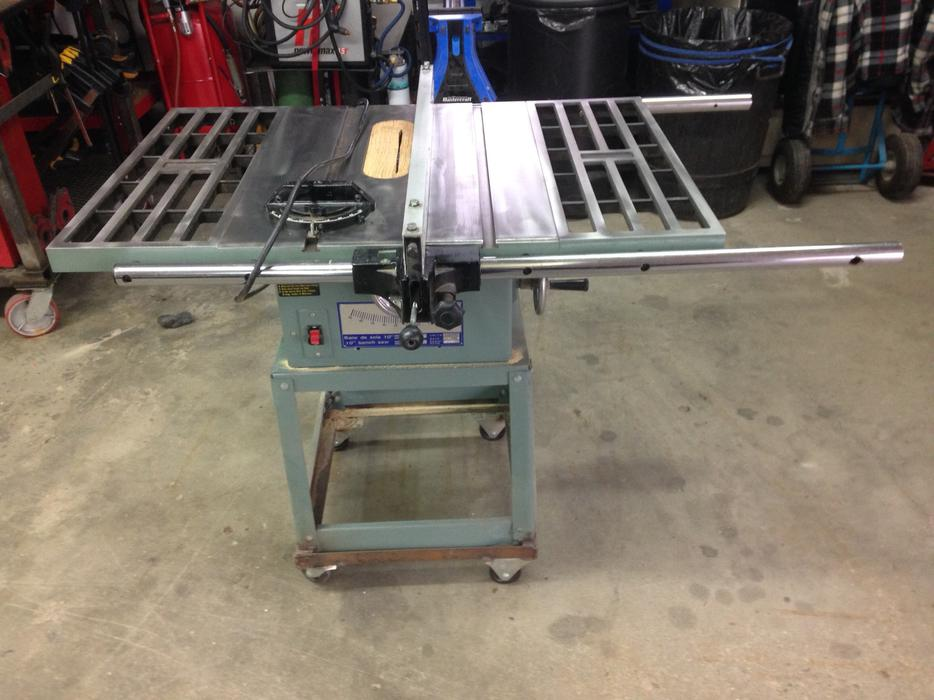 king canada table saw review