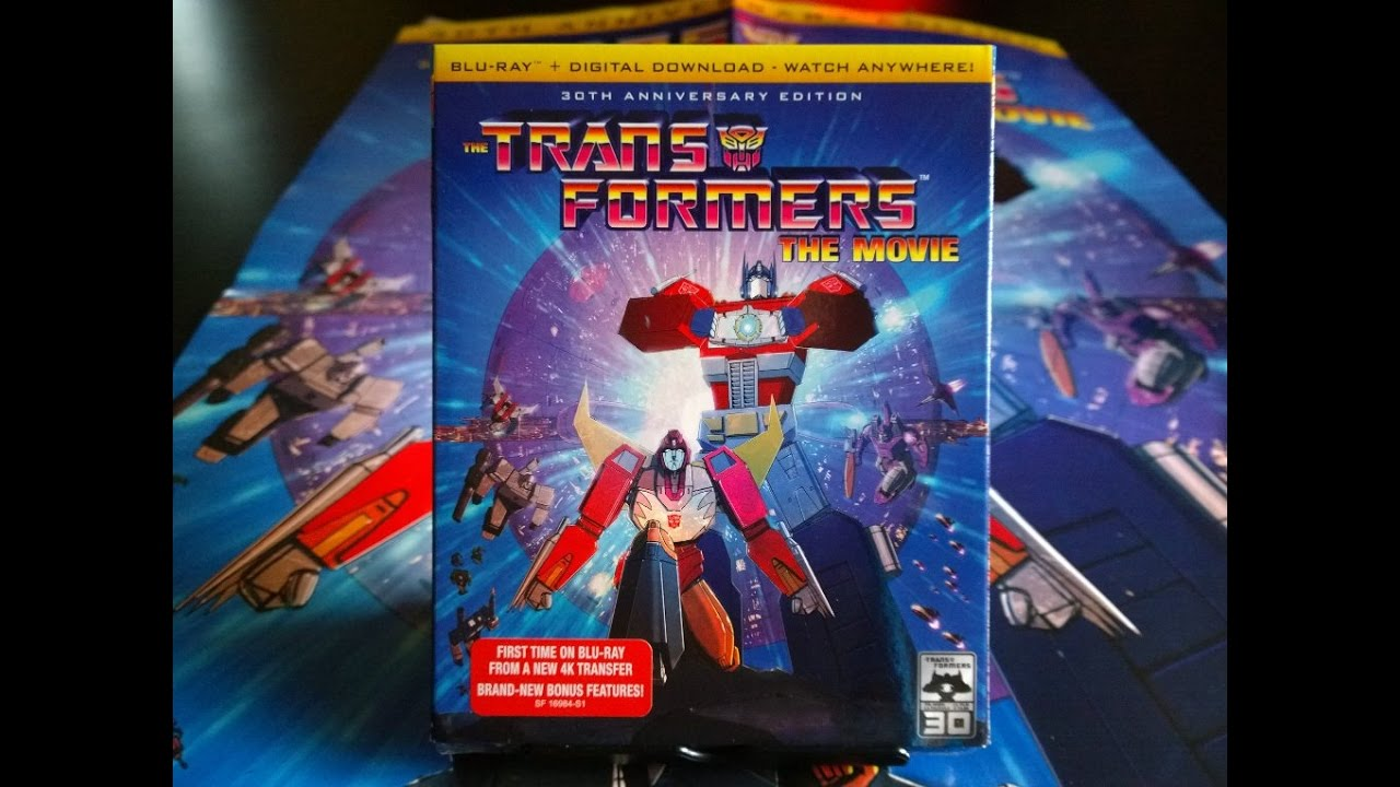 transformers the movie 30th anniversary blu ray review
