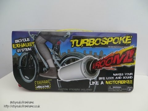 turbospoke bicycle exhaust system review
