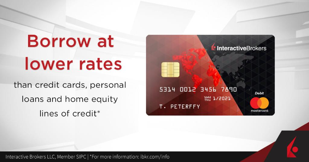 interactive brokers debit card review