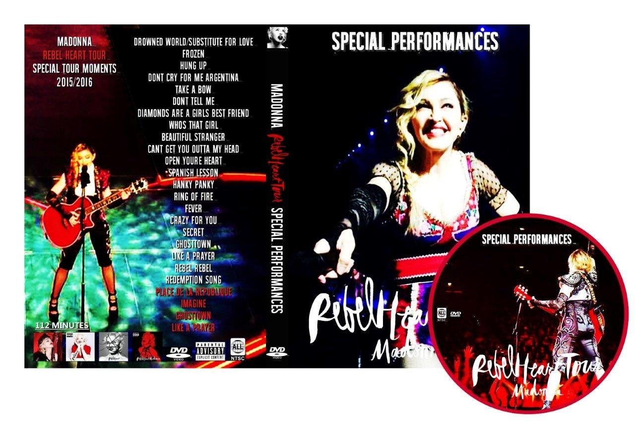 madonna rebel heart tour dvd review