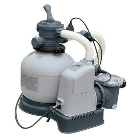 intex sand filter pump reviews