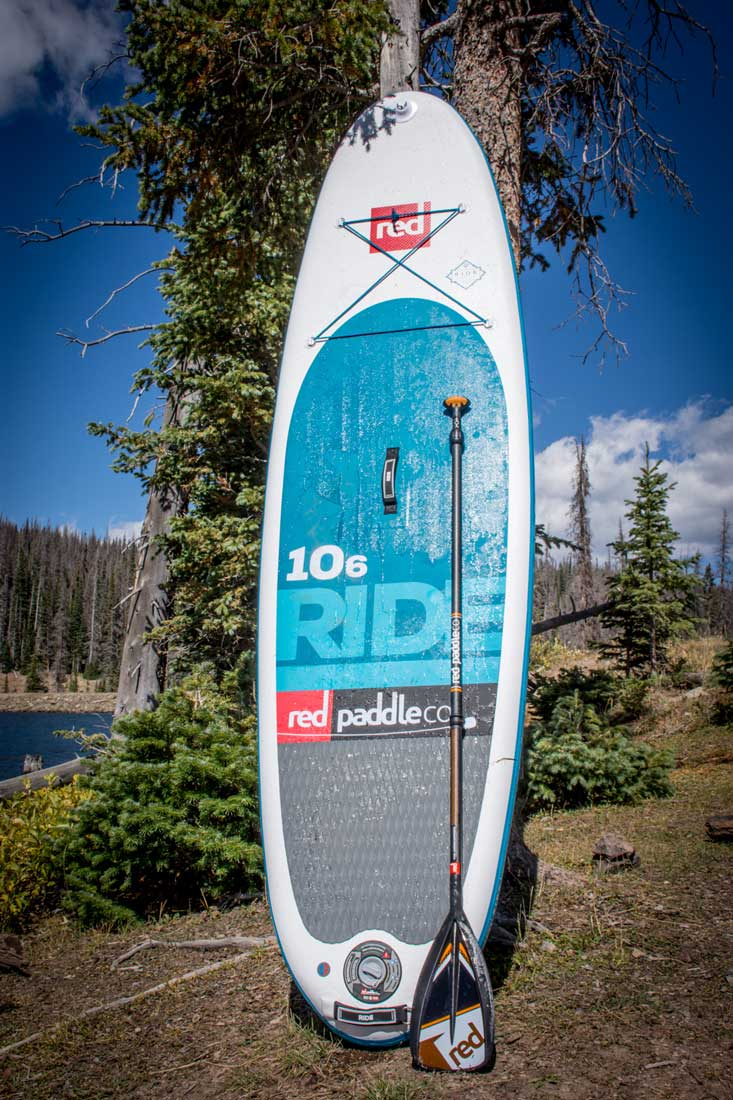 red paddle inflatable sup review