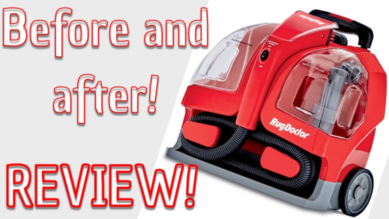 rug doctor spot cleaner review