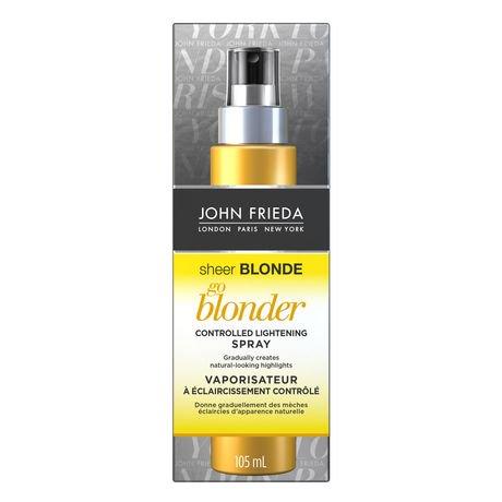 sheer blonde go blonder spray review