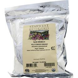 starwest botanicals organic kelp powder reviews