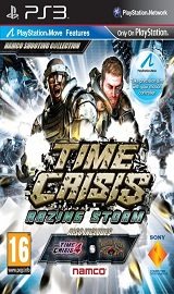 time crisis razing storm ps3 review