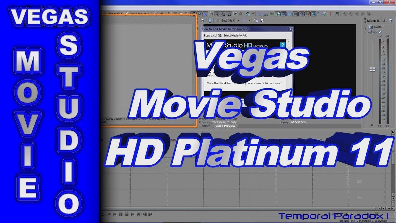 vegas movie studio 13 platinum review