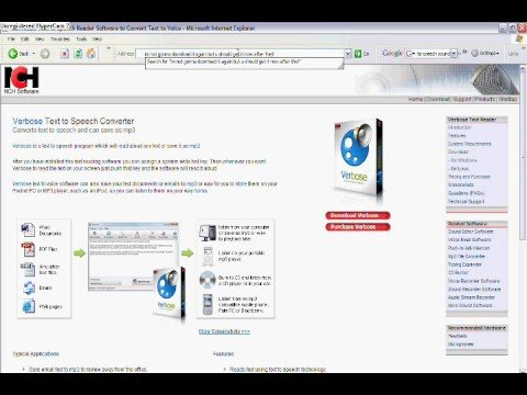 verbose text to speech software reviews